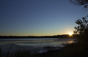 Norton, MA Pond Sunset