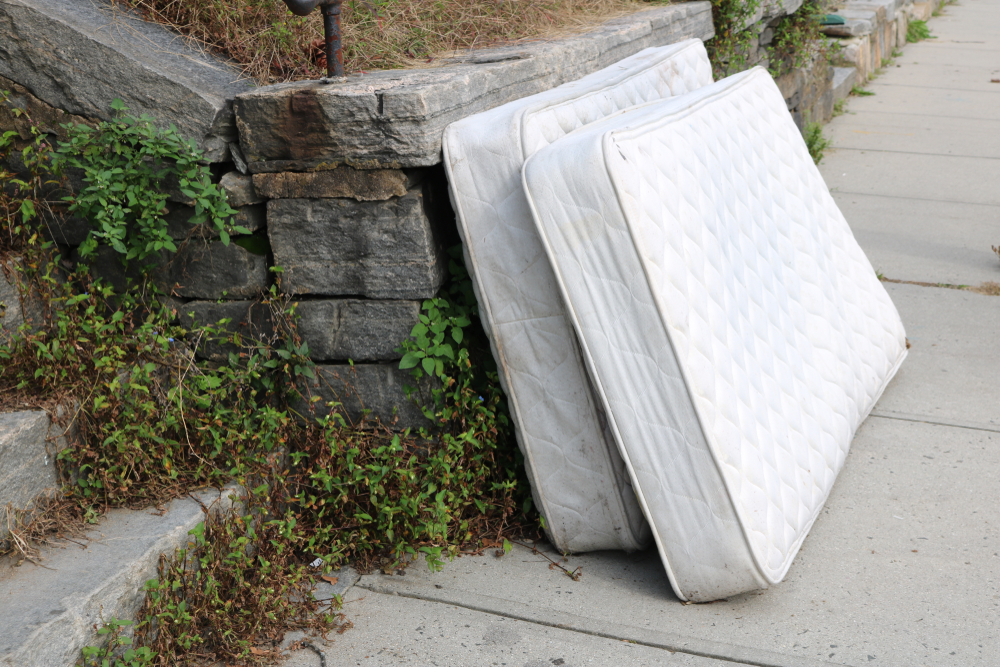 Old Mattresses on Street